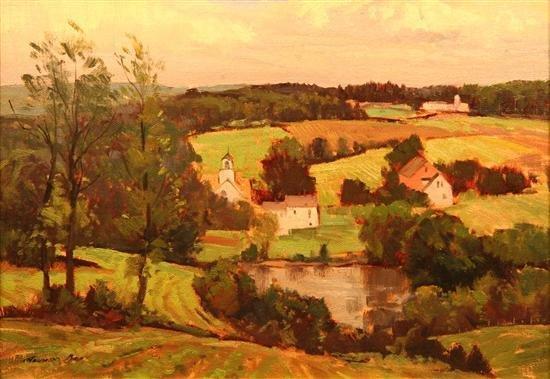10: Bernard Corey Painting