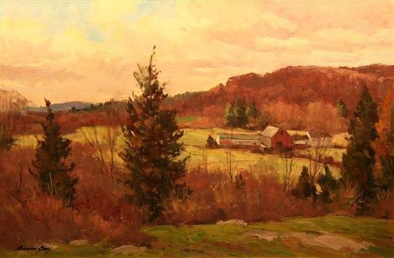 12: Bernard Corey Painting
