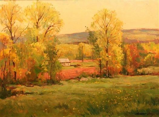 13: Bernard Corey Painting