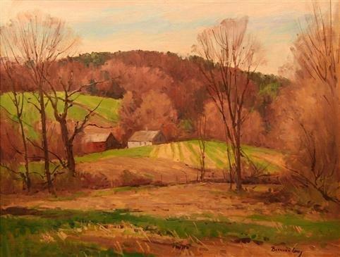 14: Bernard Corey Painting