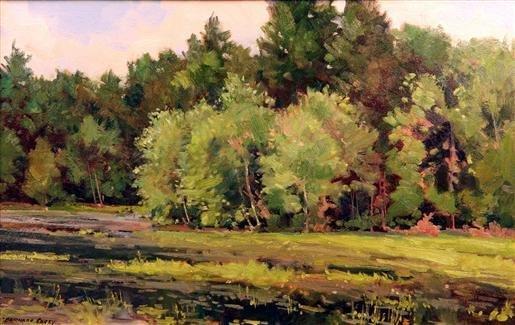 16: Bernard Corey Painting