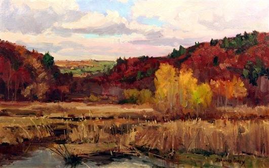 17: Bernard Corey Painting