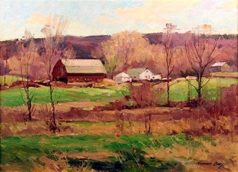 18: Bernard Corey Painting