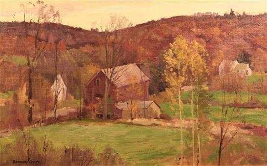 20: Bernard Corey Painting