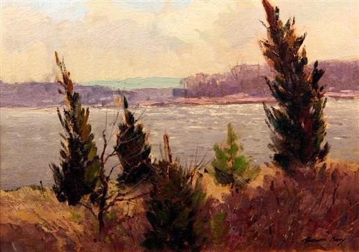 21: Bernard Corey Painting
