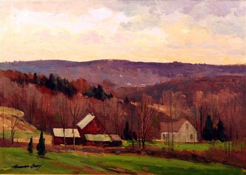 22: Bernard Corey Painting