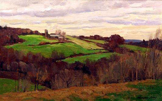 23: Bernard Corey Painting