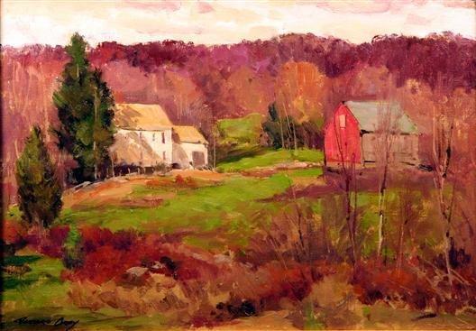 24: Bernard Corey Painting