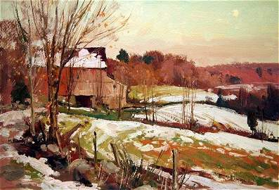 497: Bernard Corey Painting