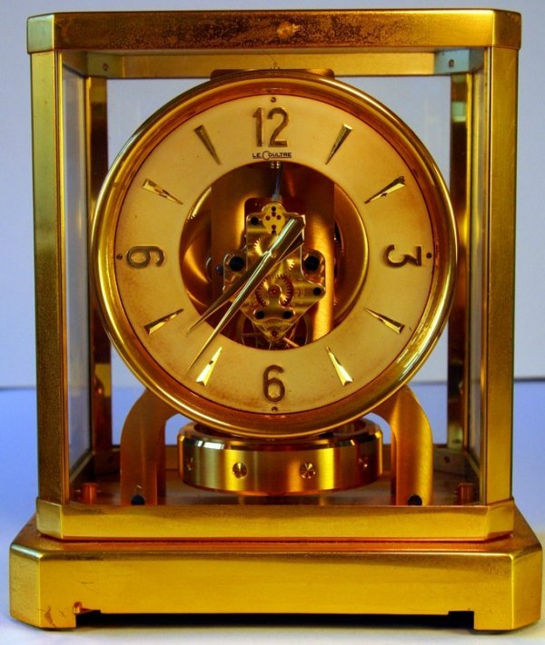 24: Le Coultre Atmos Clock