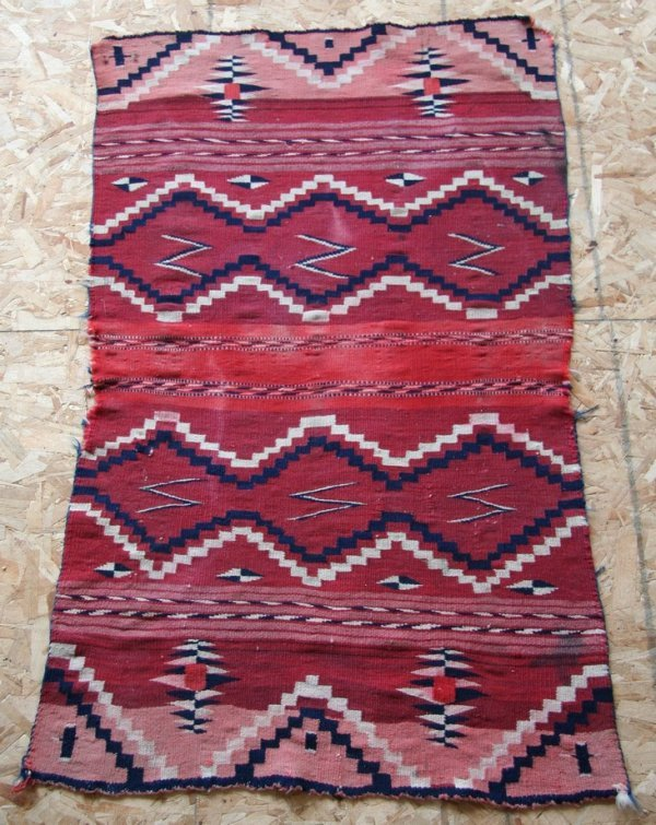 72: Antique Indian Rug
