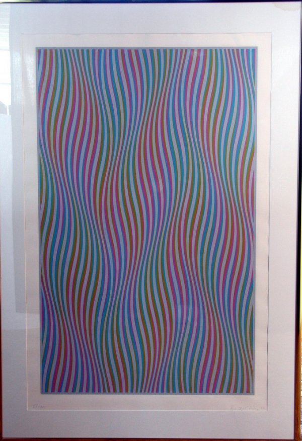 315: Bridget Riley Screenprint