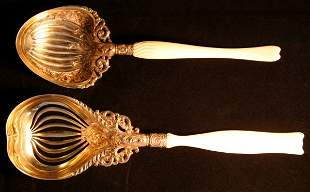 Two Sterling Serving Items