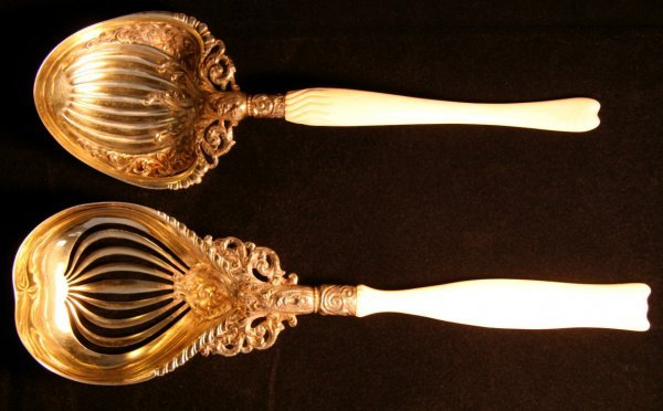 2: Two Sterling Serving Items