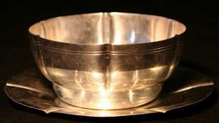 Frank Tuttle Sterling Bowl Plate