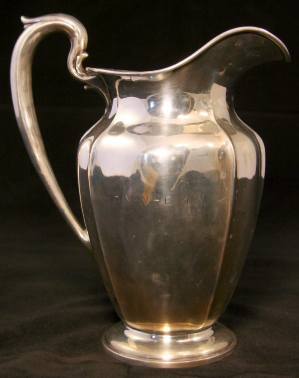 7: Large Dominick & Haff Sterling Pitcher