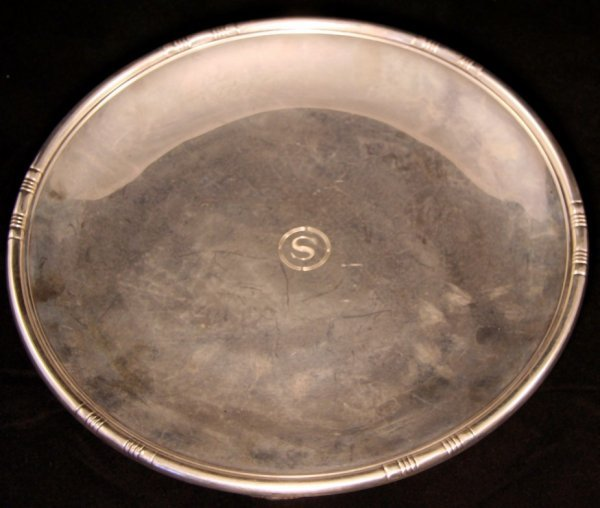 8: Tiffany & Co. Footed Serving Tray