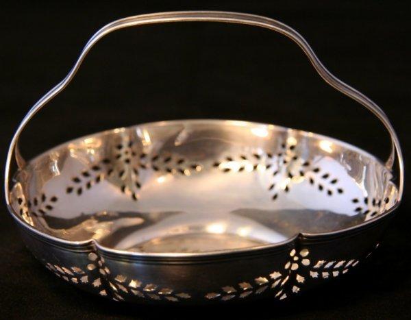 12: Reed & Barton Pierced Sterling Dish