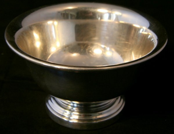 13: Large Silver Bowl