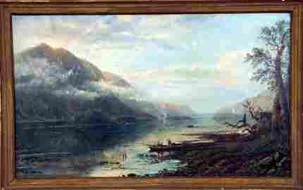 77: Edmund Darch Lewis (1829-1909) Oil on Canvas