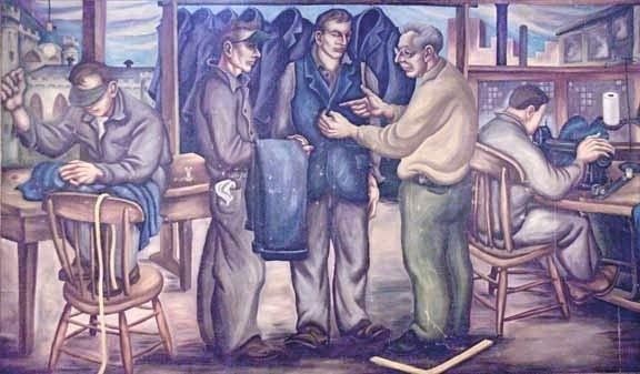 1:   A Mural of Navy Prison Life Thomas Hart Benton