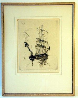3: Joseph Pierre Nuyttens Etching