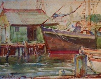 5: William Bradford Green Watercolor