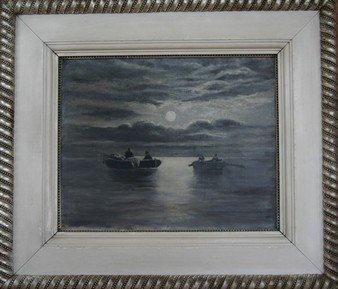7: 19th Century Seascape Oil