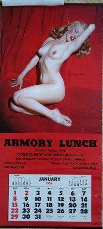 10: Vintage Marilyn Monroe Calendar