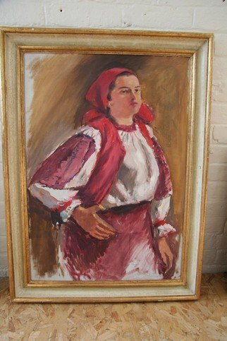 20: Impressionist Painting of a Lady