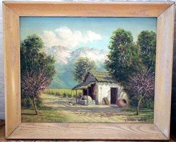 21: Lobos Impressionist Painting