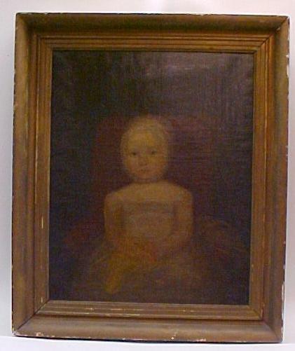1A: Girl in Red Chair John Brewster Jr. (1766-1854)
