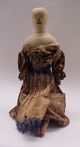 2: Early American Folk Art Doll