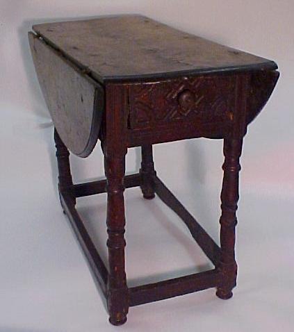 3: Pilgrim Century Drop Leaf Table