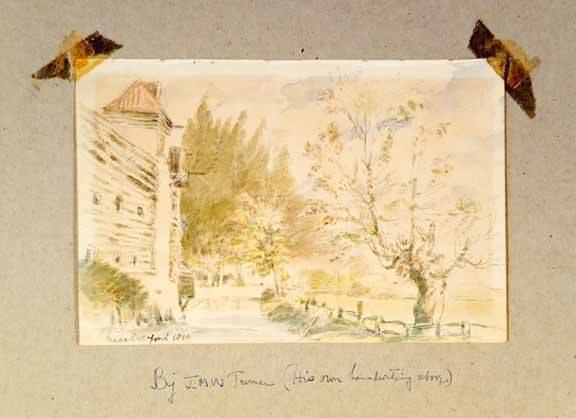 5: J.M.W. Turner Watercolor 1810
