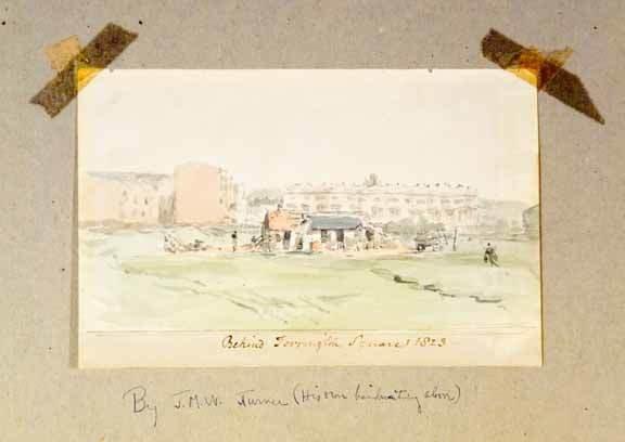6: J.M.W. Turner Watercolor 1823