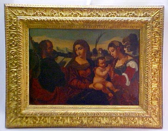 8: School of Titian Painting