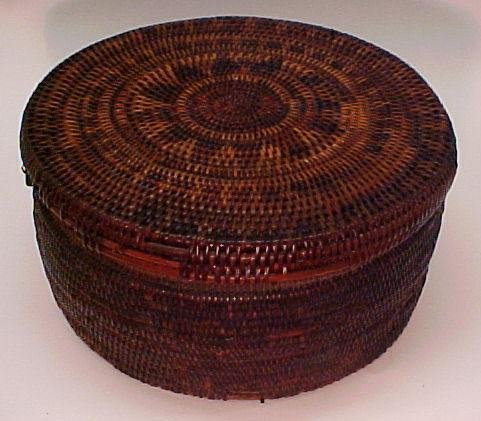 20: American Indian Covered Basket