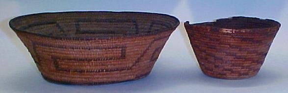 21: Two American Indian Baskets