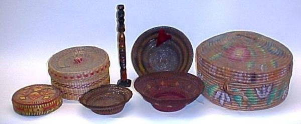 22: Group Seven American Indian Items