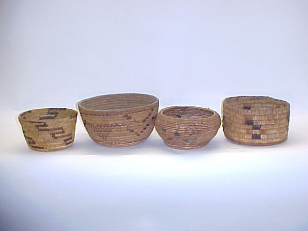 23: Four American Indian Baskets