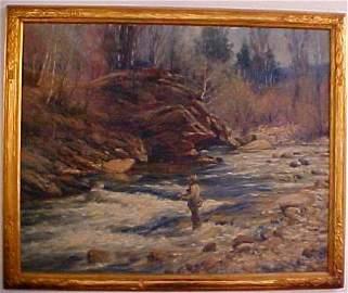 31: Edwin Child Oil on Canvas