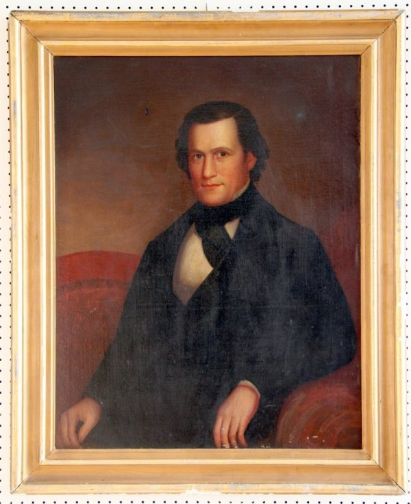 16: Early American Portrait of a Gentleman c.1830