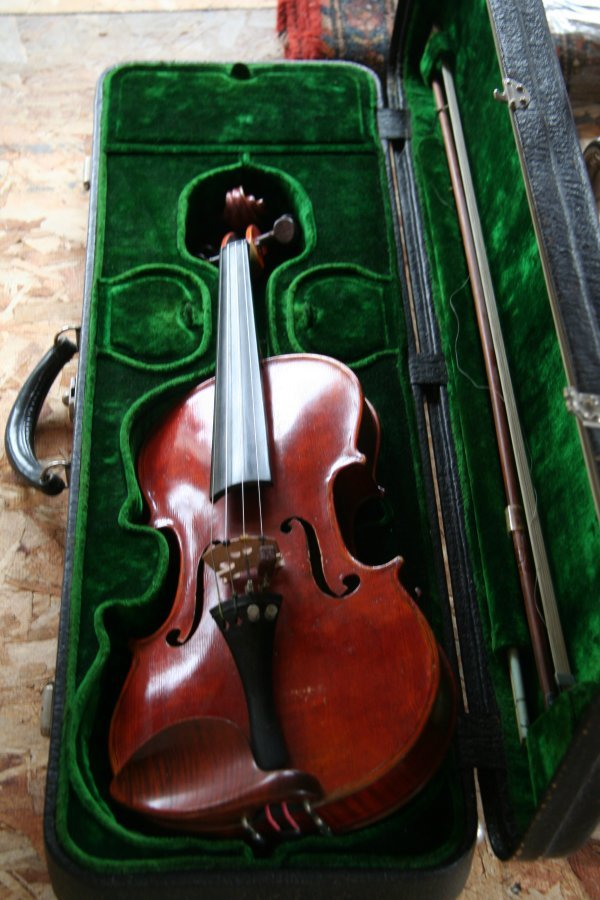 81P: Violin with case