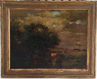 Arthur Parton Oil on Canvas