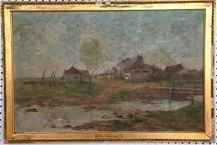 Chas. Schreyvogel Oil on Canvas