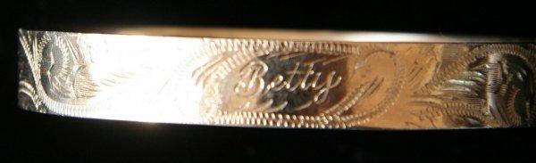 21: Victorian Gold Bracelet