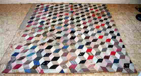 51: Early Crazy Quilt