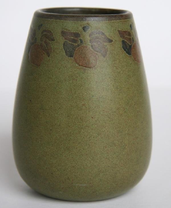 1: Marblehead Pottery Decorated Vase