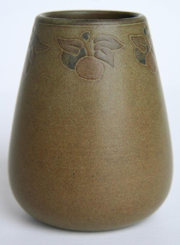 2: Marblehead Pottery Decorated Vase